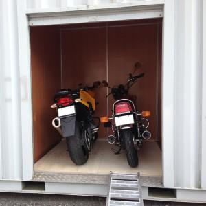 バイク収納例