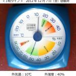 3帖タイプ温度