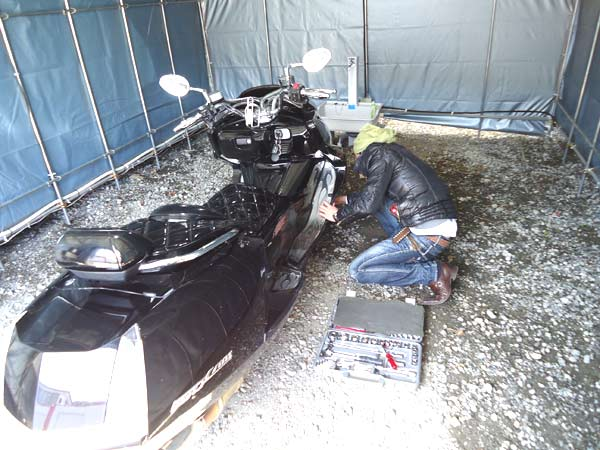 作業用テント6