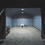 夜の作業用テント5