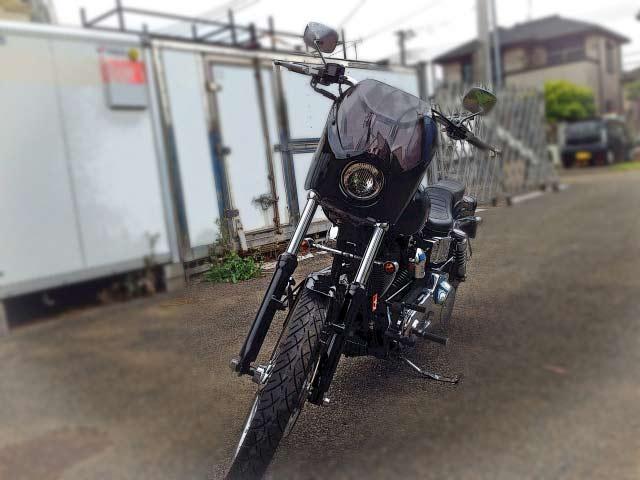 バイクをコンテナへ