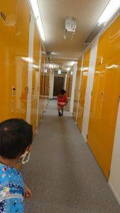 トランクルーム内を散策